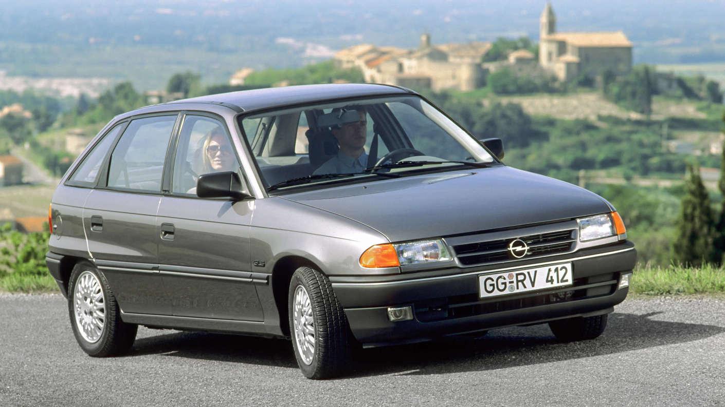 Opel Astra F зразка 1991 року