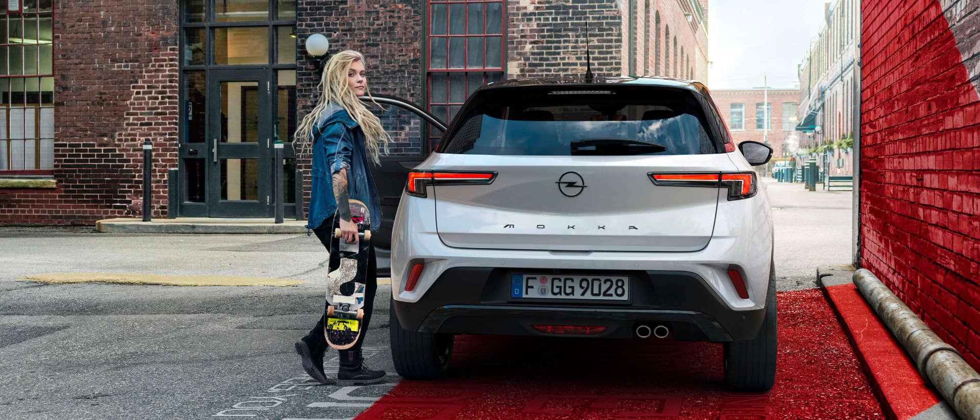 Opel Mokka, зовнішній вигляд