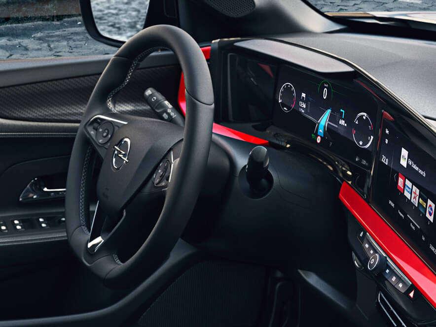 Opel, Mokka, інтер'єр салону