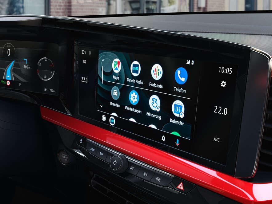 Opel, Mokka, інформаційно-розважальна система
