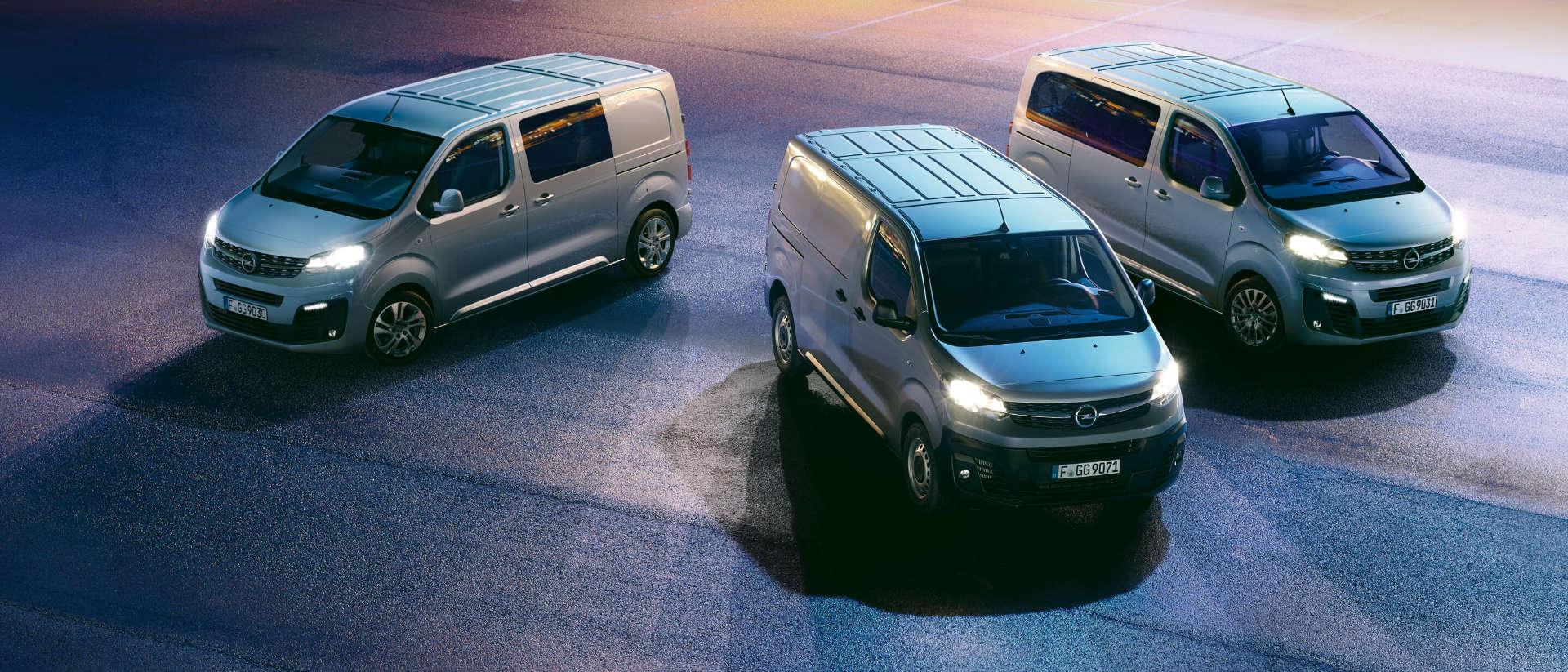 Opel Vivaro, Vivaro Panel Van, Vivaro Crew Cab, вантажний фургон, вантажно-пасажирський фургон